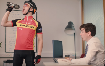 WATCH: Foil Arms and Hog perfectly sum up the 'smug cycling guy' in your office