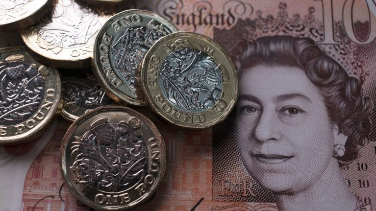 Value of sterling nears ten-year low against euro