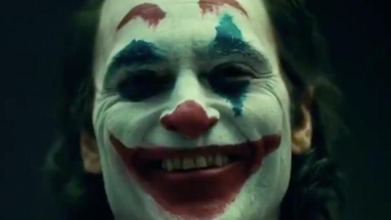 Leaked set footage shows Joaquin Phoenix in his full Joker costume