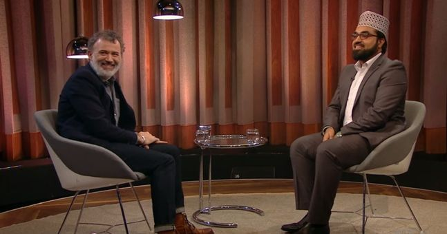 There was a hugely positive reaction to Tommy Tiernan's interview with a Muslim leader last night