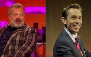 Here's the line-up for tonight's Late Late and Graham Norton shows