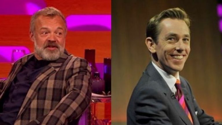 Tubridy and Norton: Here are the lineups for the Late Late and Graham Norton Show