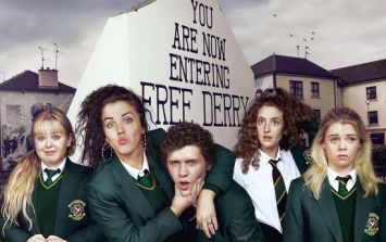 Here's how to watch the first episode of Derry Girls if you missed it last night