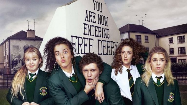 Derry Girls is now available around the world on Netflix and people