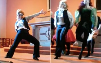 WATCH: This Riverdance spoof a community put together to fundraise for their local church
