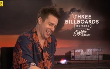 """""""It's super f*cked up and hilarious"""" - Sam Rockwell chats about Oscar-favourite Three Billboards"""