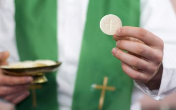 A Catholic Diocese in Northern Ireland has suspended the ''sign of peace'' due to flu epidemic