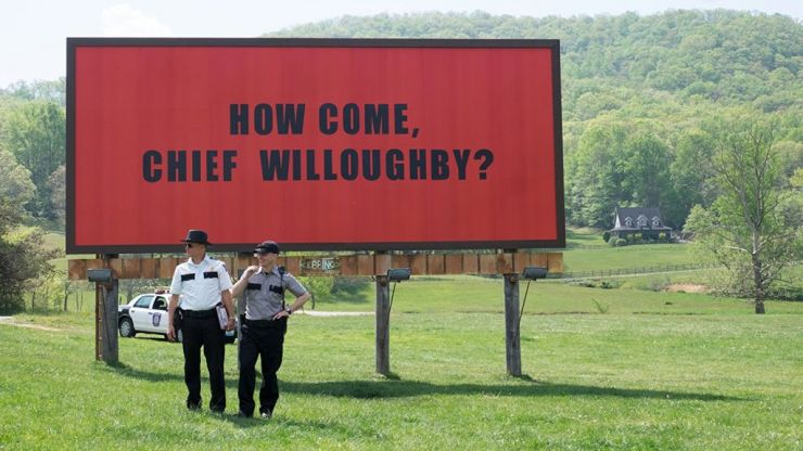 Three Billboards is one of those rare movies with an absolutely perfect ending