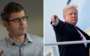 Louis Theroux is teasing a documentary about Donald Trump