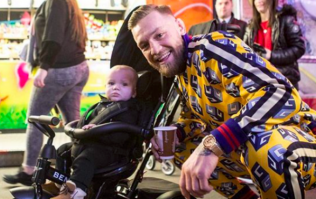 Conor McGregor rented out Funderland all to himself, family and friends on Monday