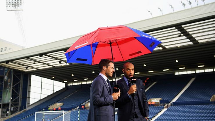 """WATCH: Thierry Henry has a breakdown over the word """"percentages"""" on Sky Sports"""