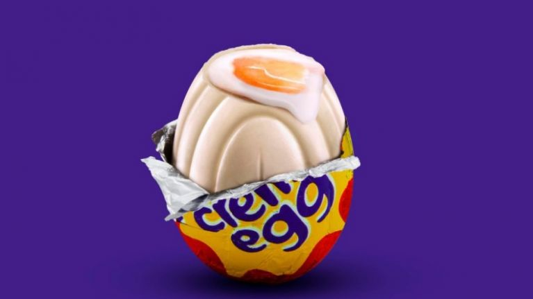 Cadbury have released a very, very limited edition white chocolate creme egg