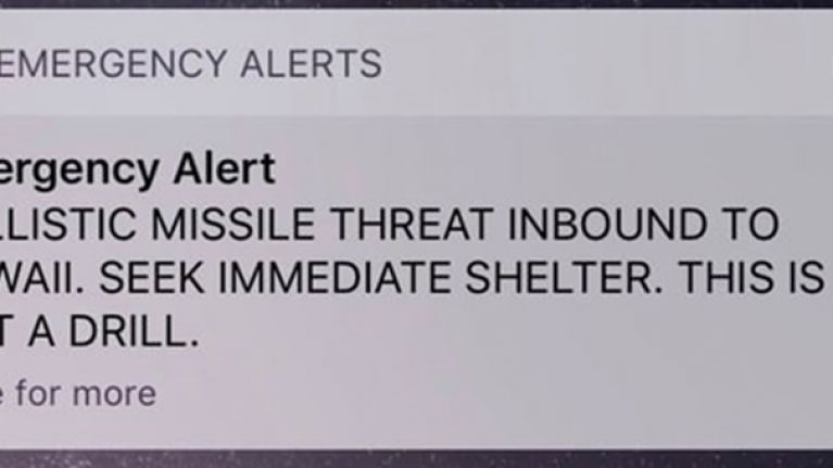 Here are the full details of what happened with that chilling missile warning in Hawaii
