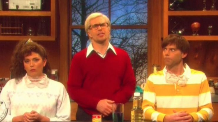 Sam Rockwell drops an F-bomb live on SNL, continues to be everyone's favourite dancing actor