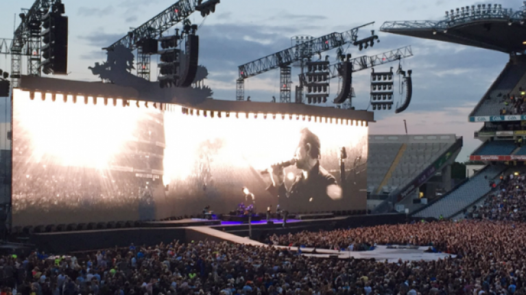 U2 Announce Irish Concerts This Year As Part Of Experience