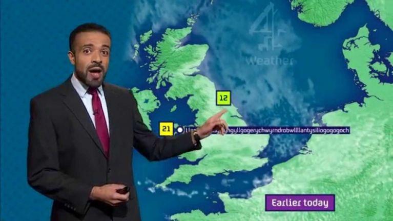Channel 4 weatherman blasts Met Éireann for naming 'Storm Fionn