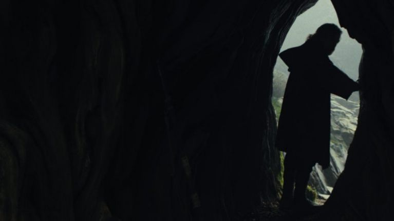 Director Rian Johnson silenced critics of a particular plot point in The Last Jedi without saying a word