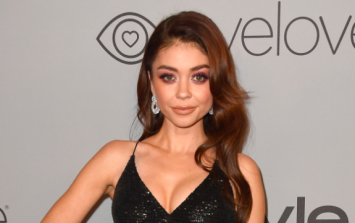The Golden Globes video that's landed Sarah Hyland in hot water