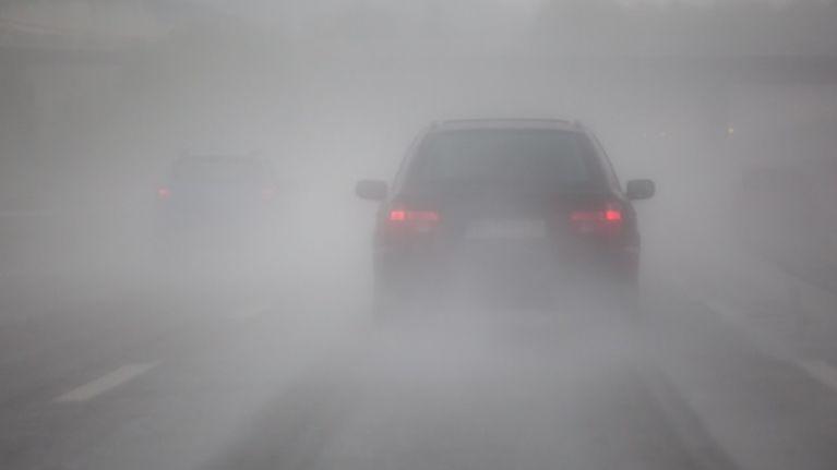Met Éireann issues Status Orange fog warning for 18 counties