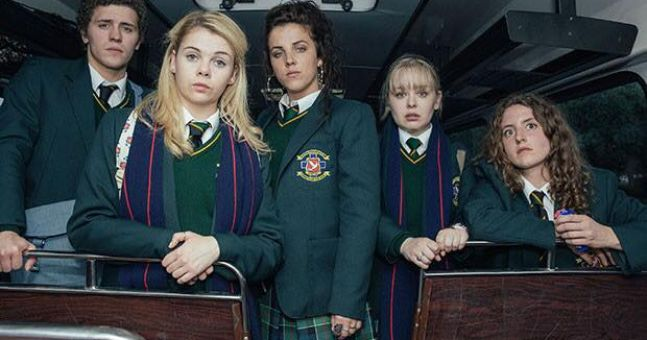Derry Girls has been commissioned for a second series after just one episode has aired
