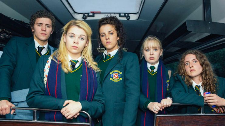 There's a Derry Girls/Great British Bake Off crossover going down this Christmas