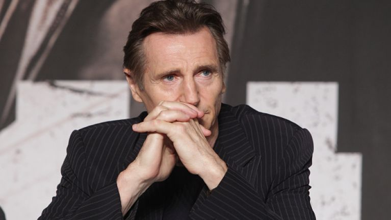 Liam Neeson reportedly removed from Queens University Belfast prospectus following controversial comments