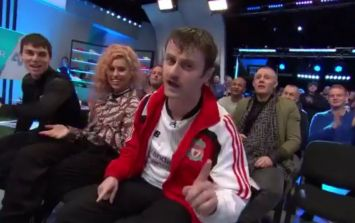 """Liverpool fan from Cork performs """"greatest Liverpool song of all time"""" on Soccer AM"""