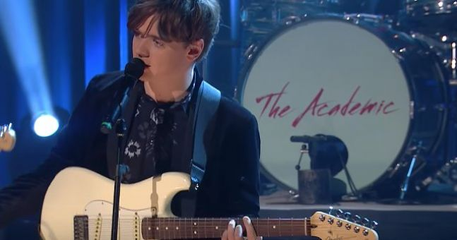 WATCH: The Academic cement their 'next big thing' status on The Late Late Show