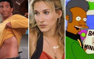Should we feel guilty for laughing at jokes from 90s shows that many find offensive today?
