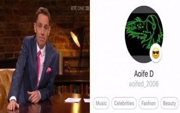 What happened when the Late Late Show set up a fake online account for a 13-year-old girl was chilling
