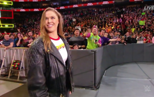 Ronda Rousey has officially become a full-time WWE wrestler