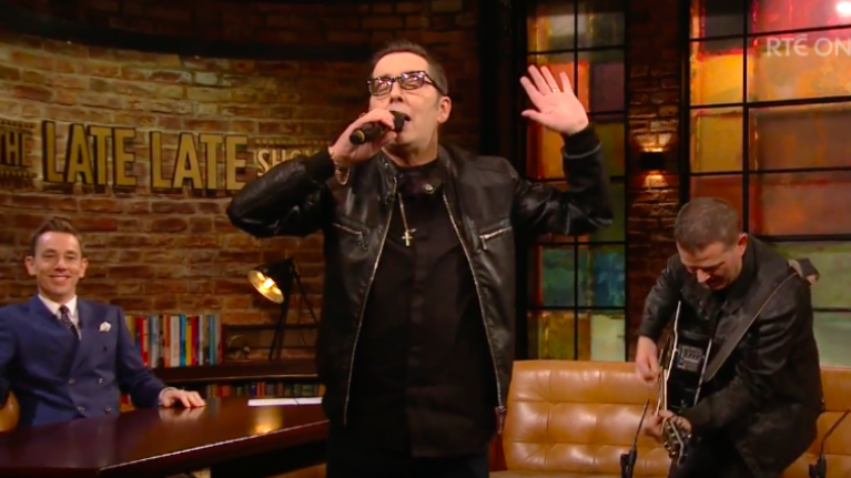 People were blown away by Aslan's performance on The Late Late Show