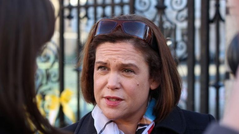 """Mary Lou McDonald accuses British government of """"deluding itself"""""""