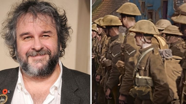 WATCH: Peter Jackson is making a WWI documentary and it's going to be shown on the BBC