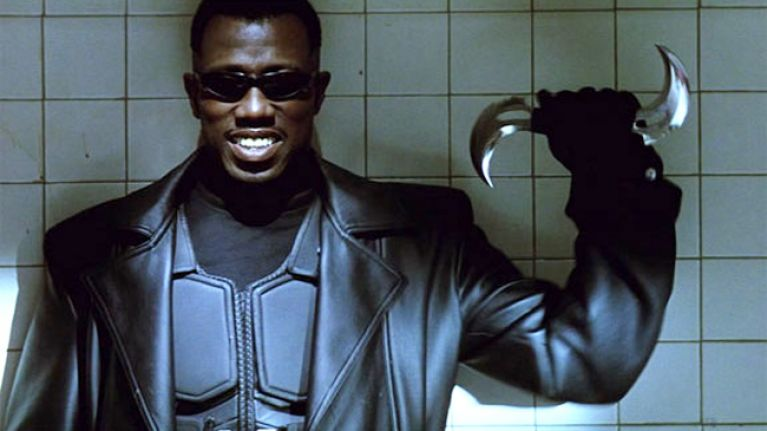 Blade almost had a hugely different beginning and truly terrible ending
