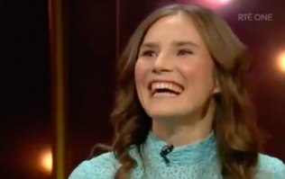 Amanda Knox did something very odd on the Ray D'Arcy Show last night