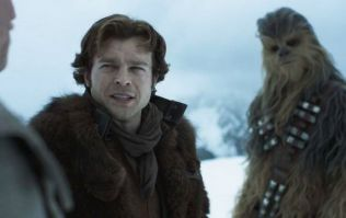 George Lucas helped direct a key scene in the new Han Solo movie