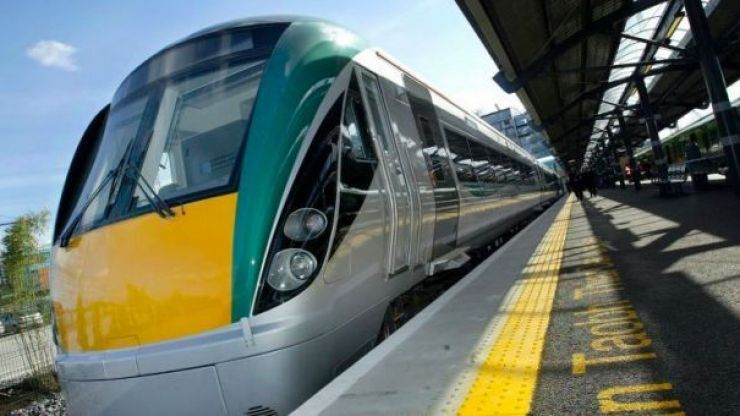 Alcohol set to be banned on select Dublin trains to Galway and Mayo