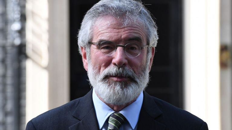 Gerry Adams has officially stepped down as Sinn Féin leader