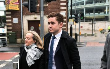 """Victim """"appeared to be staring at and fixated on Paddy Jackson"""" claims co-defendant"""