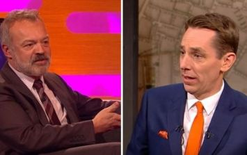 Here's who's on Graham Norton and one of the liveliest Late Late Shows of the year tonight