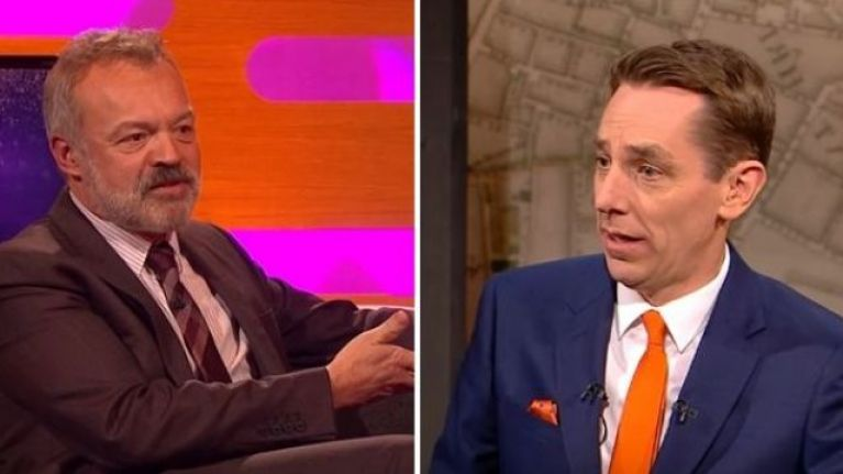 Here are the guests on this week's Graham Norton and Late Late Show