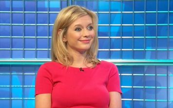 Rachel Riley revealed a not-very-daytime phrase on the Countdown letters board