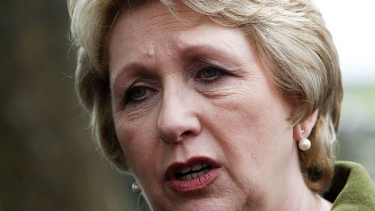 """A tearful Mary McAleese says her brother was """"seriously, physically, sadistically abused"""" by Fr. Malachy Finnegan"""