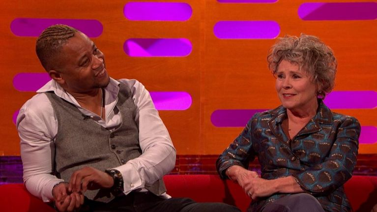WATCH: Cuba Gooding Jr and Imelda Staunton tell hilarious story of what it's REALLY like at the Oscars