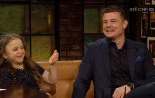 WATCH: Brian O'Driscoll and Michaela Morley melted our hearts talking about their friendship