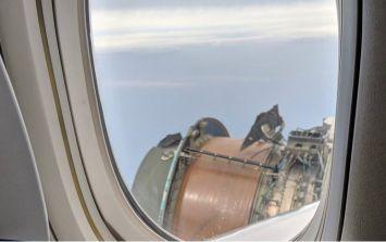 WATCH: Passengers share footage of jet engine 'exploding' mid-flight