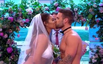 This Love Island couple got married live on TV and it's being torn apart on social media