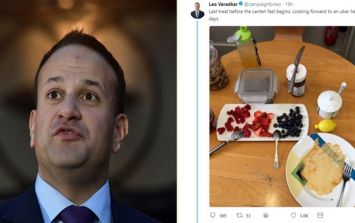 Leo Varadkar was torn asunder for his pitiful Pancake Tuesday offering