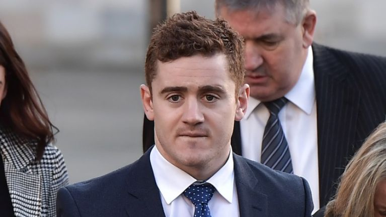 "Taxi driver describes picking up ""sobbing"" woman from Paddy Jackson's home"